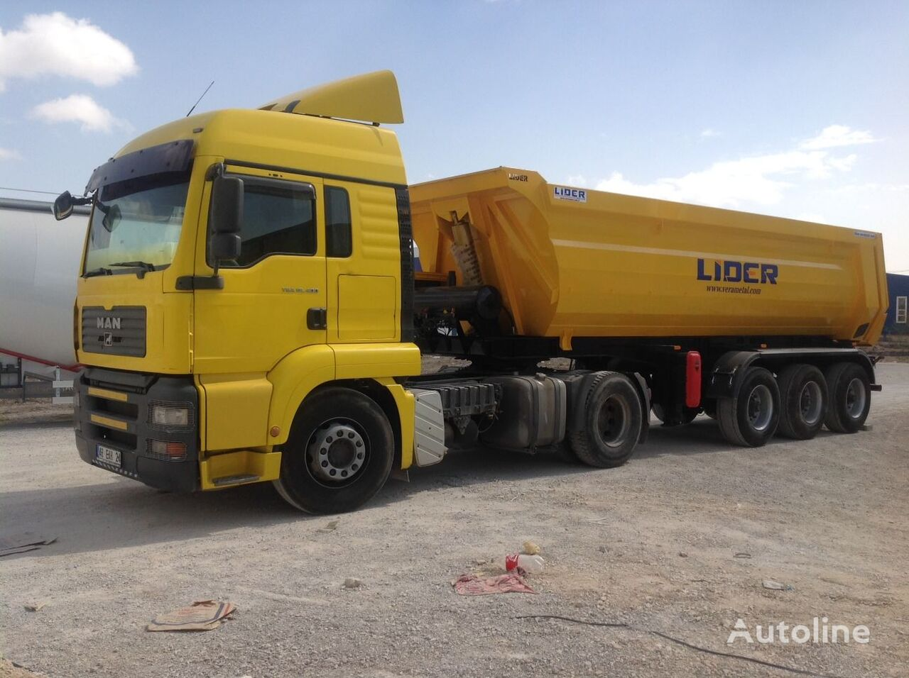 new LIDER 2018 NEW DIRECTLY FROM MANUFACTURER COMPANY AVAILABLE IN STOCK tipper semi-trailer